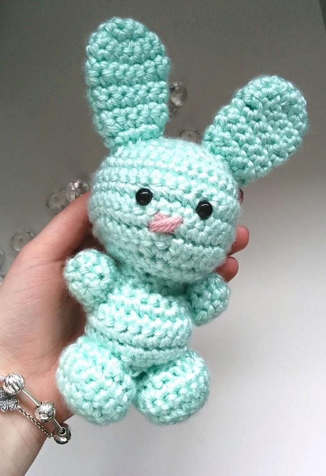 Free Crochet Amigurumi Bunny Rabbit Pattern Strings Things