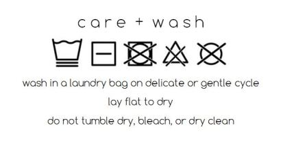 Washing Labels