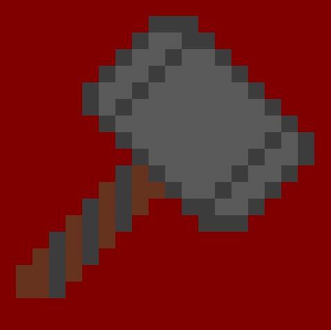 Thors Hammer Pixel